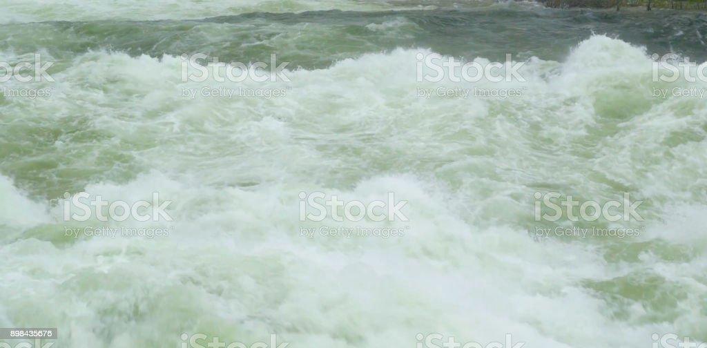 Spokane River stock photo