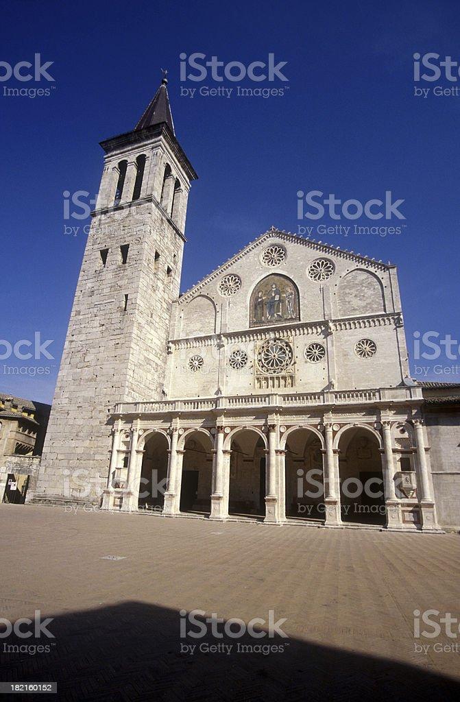 Spoleto royalty-free stock photo