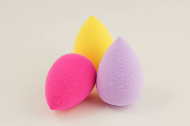 sponge for applying cosmetics on face – zdjęcie