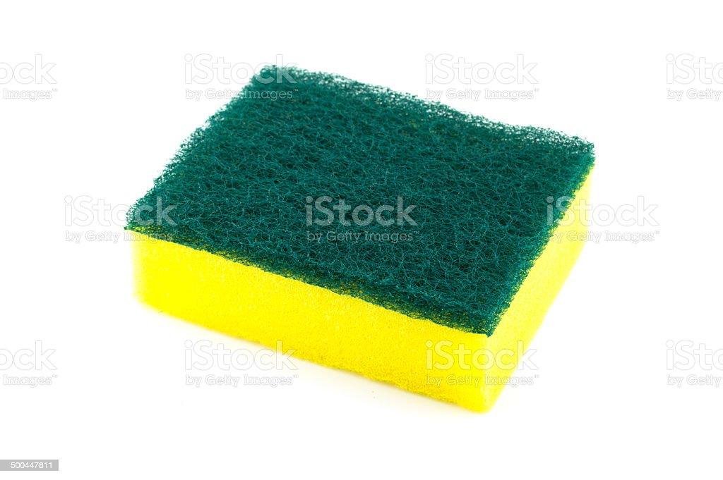 sponge for cleaning stock photo