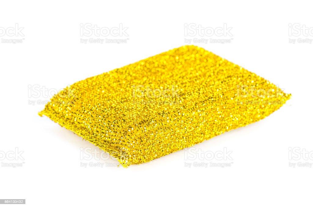 Sponge for dishes washing royalty-free stock photo