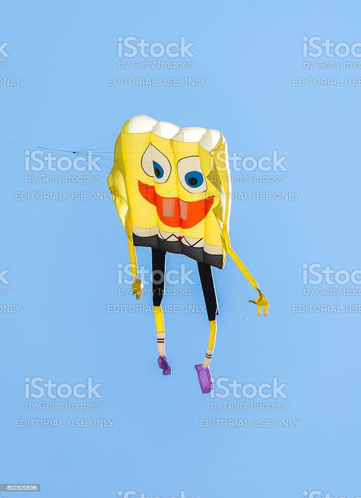 Spongebob Kite - foto de acervo