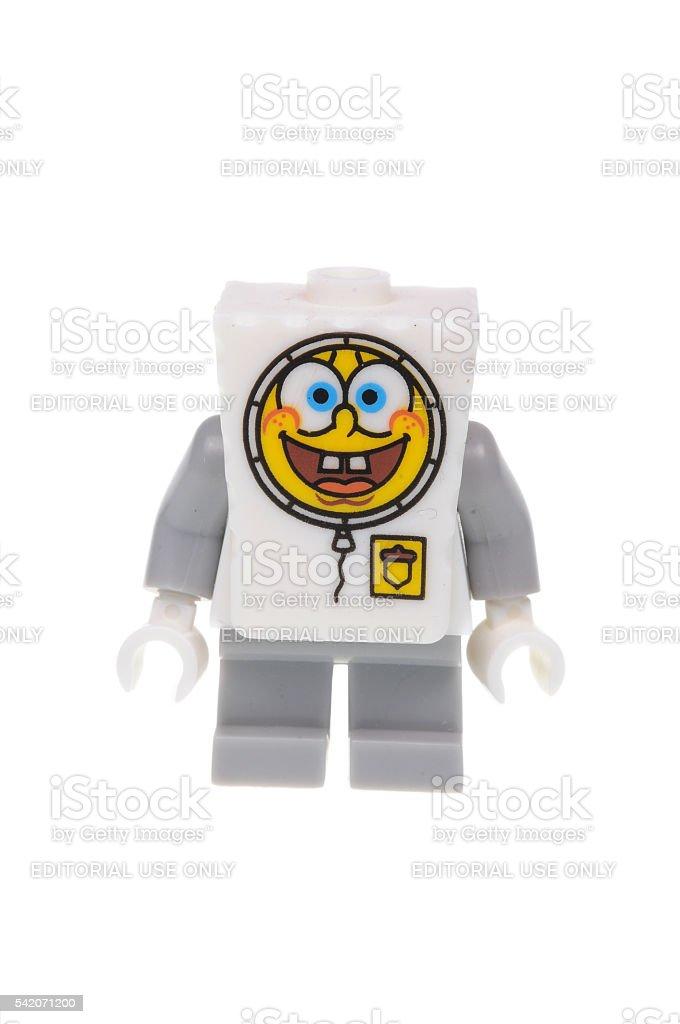 Bob Esponja Calça Quadrada Minifigure de Lego - foto de acervo