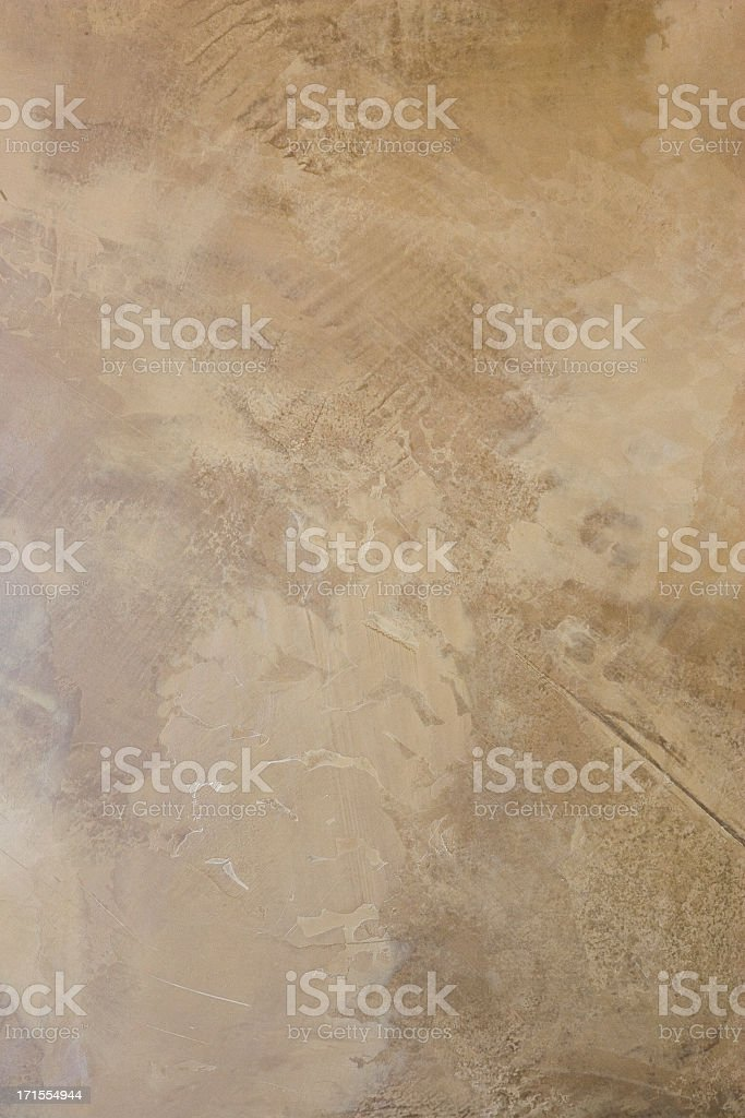 Sponged Wall Detail stock photo