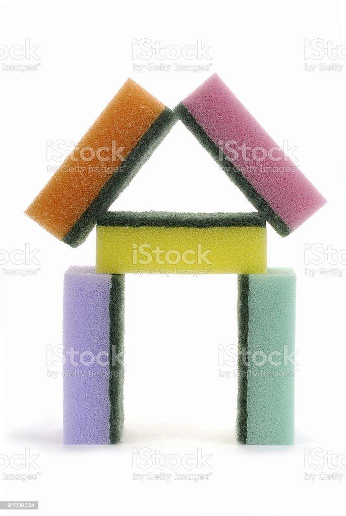 sponges royalty-free stock photo