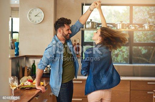 istock Spontaneous dancing and romancing 624533286