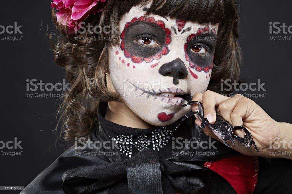 Spooky creature stock photo