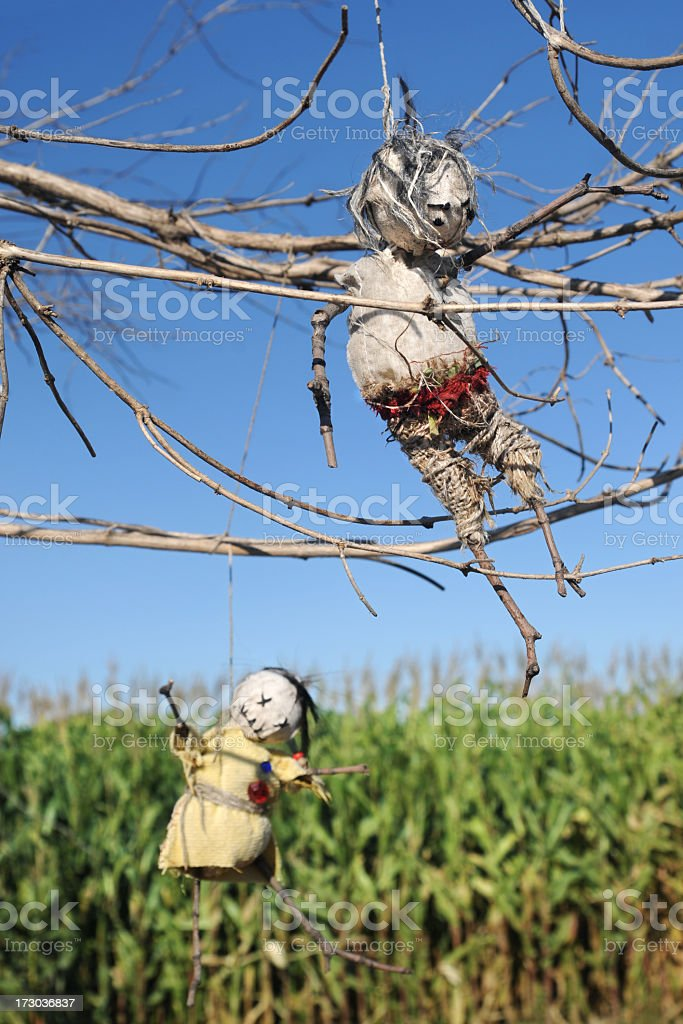 Spooky Dolls royalty-free stock photo