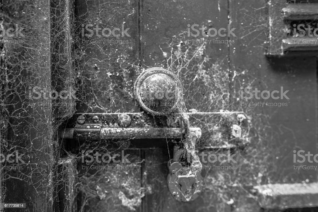 Spooky Door Handle royalty-free stock photo & Spooky Door Handle Stock Photo u0026 More Pictures of Abandoned | iStock