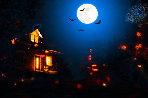 Spooky halloween night background picture id1033236932?b=1&k=6&m=1033236932&s=612x612&w=0&h=vbnfqgnamhilm fh5h dt1 pxlwd p6wj4cjhbiu 8u=