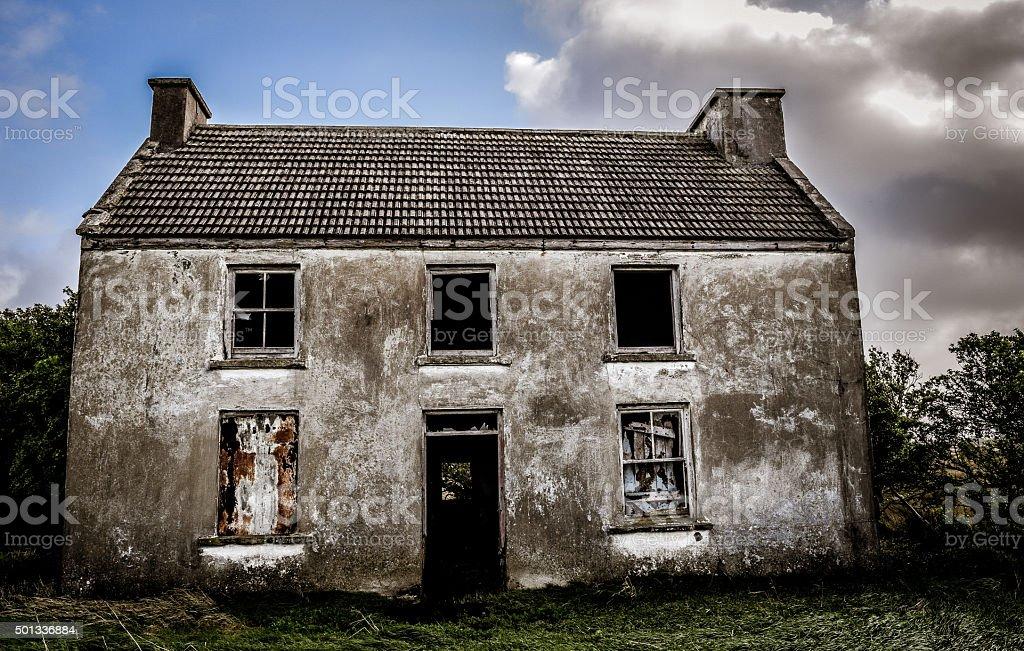 Assustador house - foto de acervo