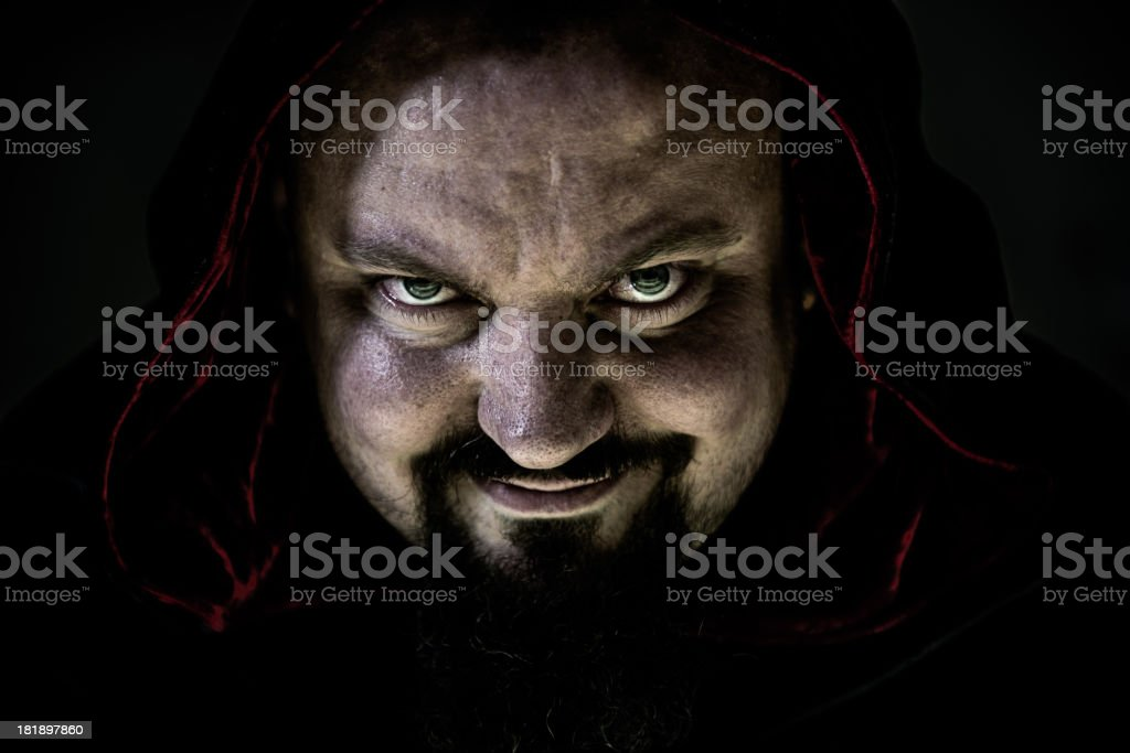Spooky Man royalty-free stock photo