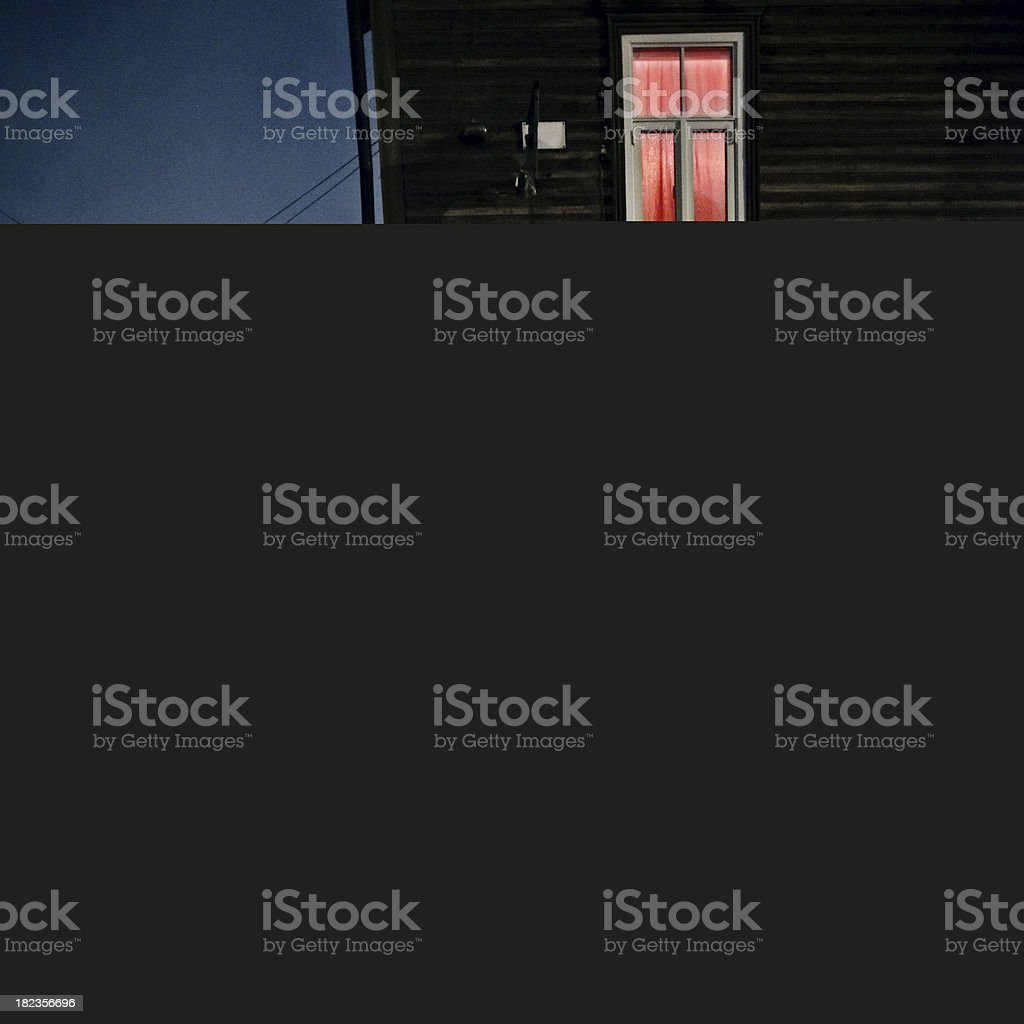 spooky old house royalty-free stock photo