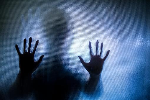 Spooky Silhouette Of W...
