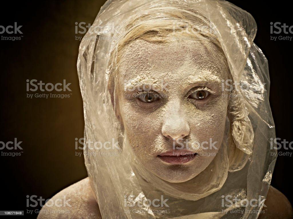 spooky woman royalty-free stock photo