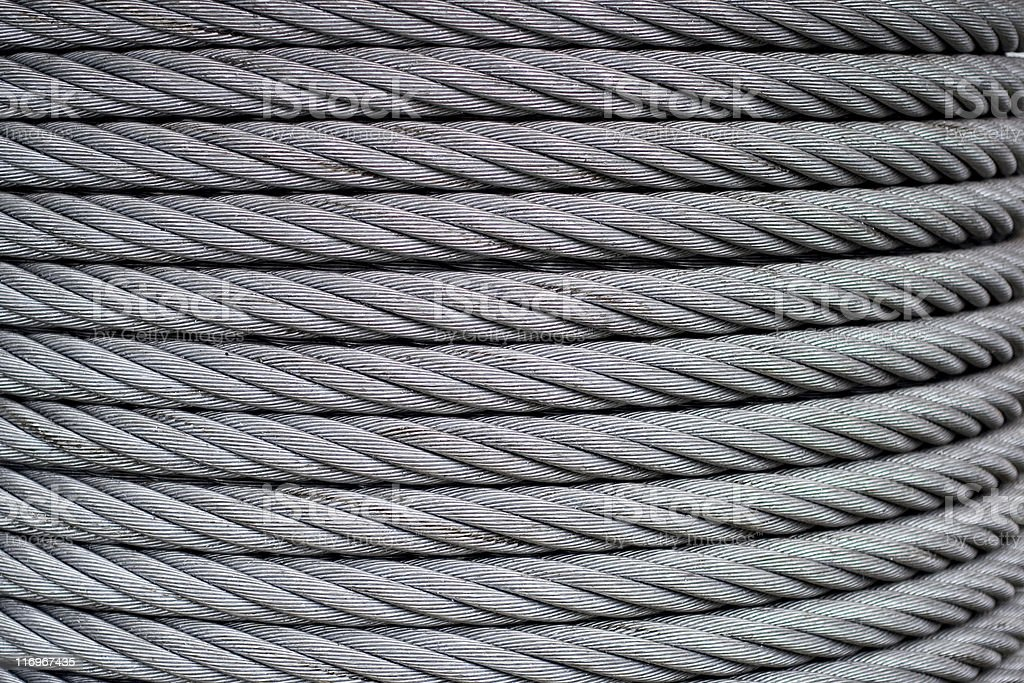 Spool of cable royalty-free stock photo