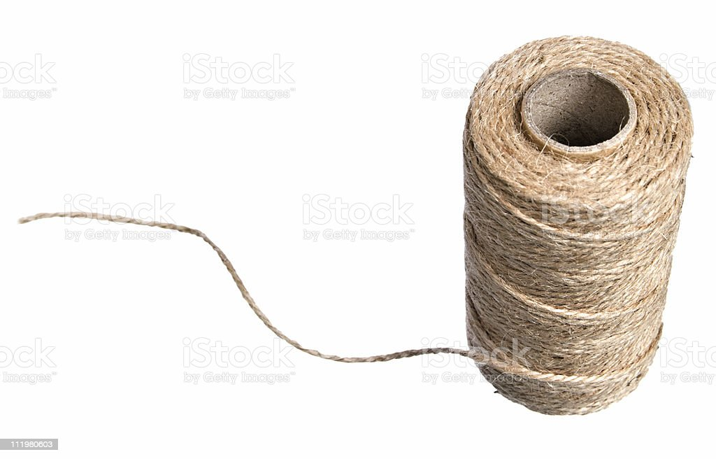 Spool of String royalty-free stock photo