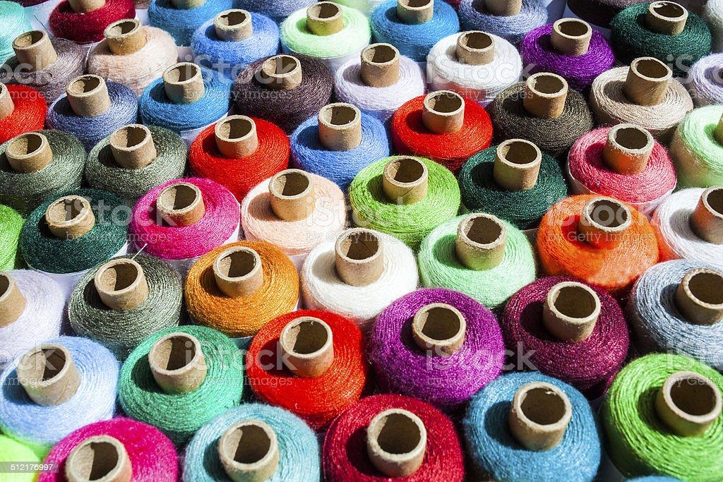 spool of thread stock photo