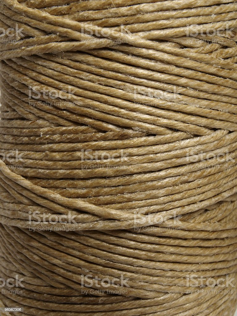 spool of thread royalty-free stock photo