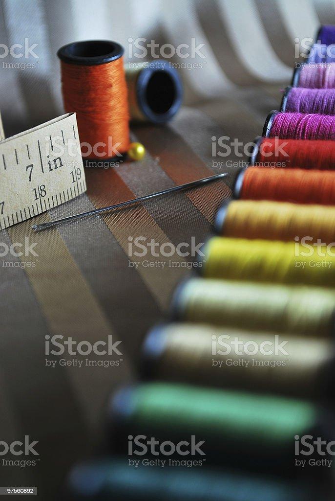 Spools de couleur photo libre de droits