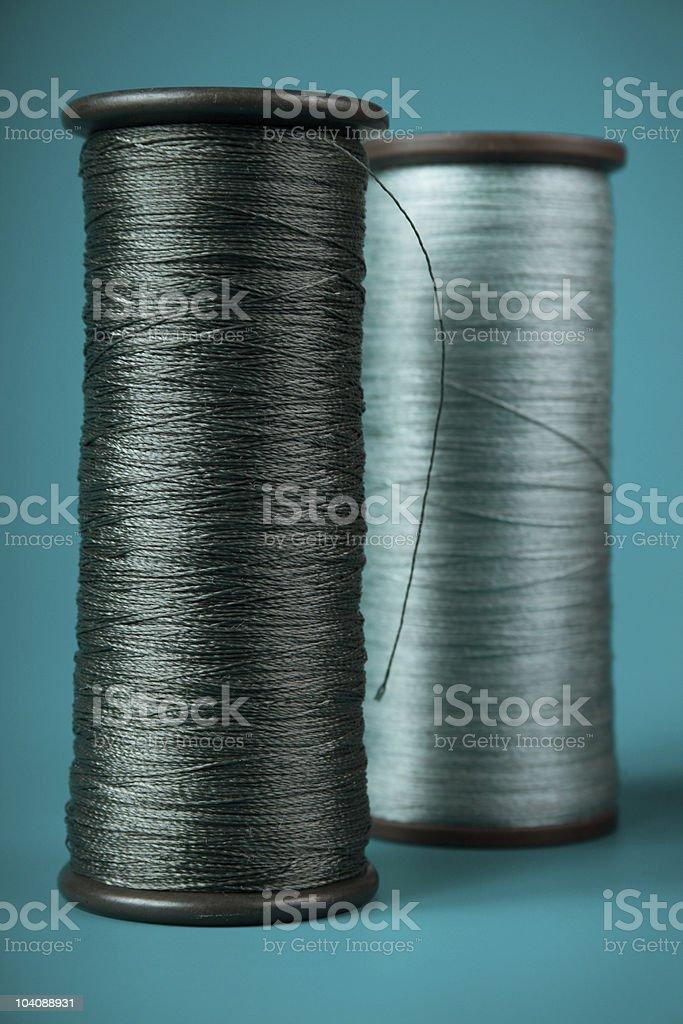 spools of thread royalty-free stock photo