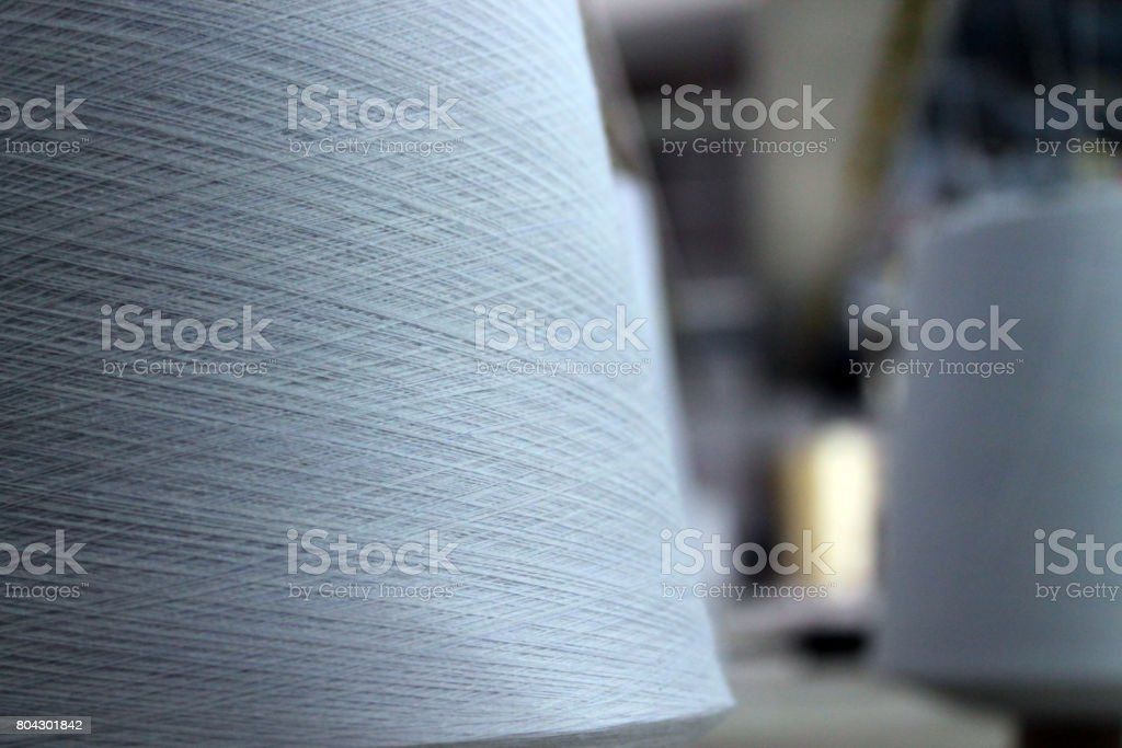 Spools of Thread - Rainbow Pastels - Sewing Shop / Tailor stock photo