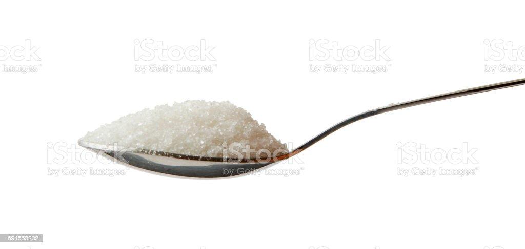 Spoon full of Sugar stock photo