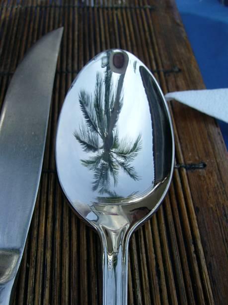 Spoon stock photo
