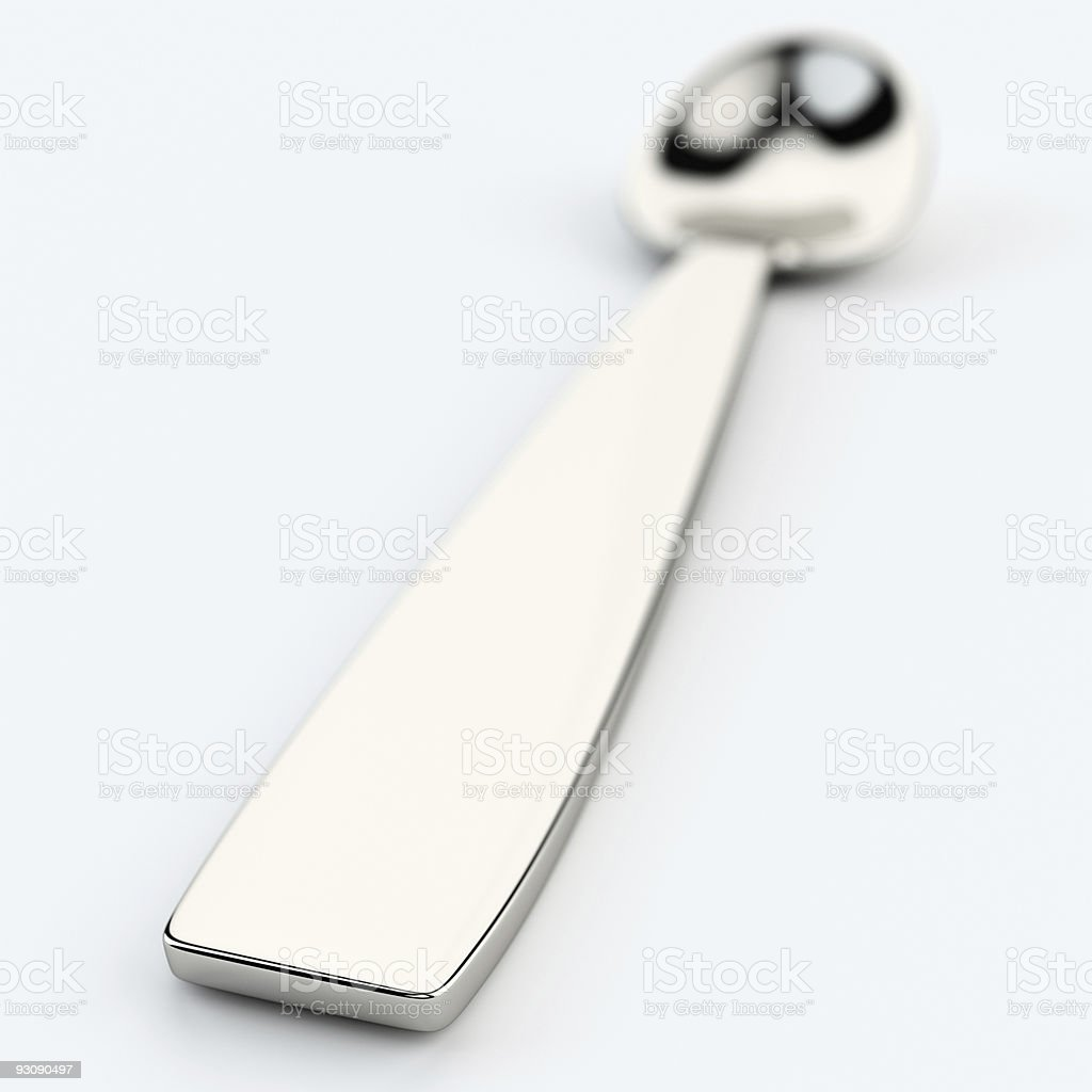 spoon royalty-free stock photo