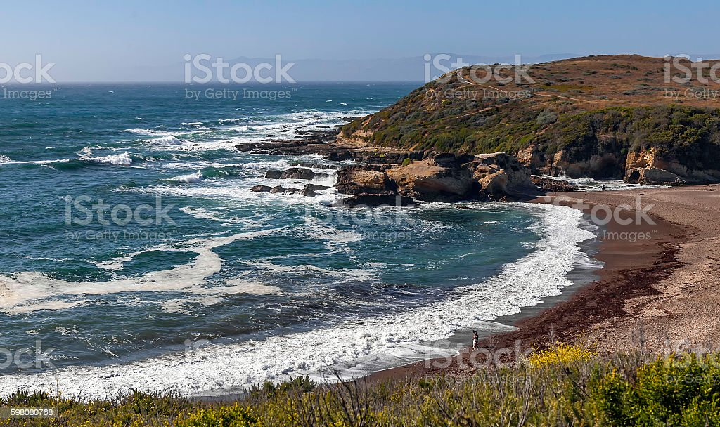 Spooners Cove Beach stock photo