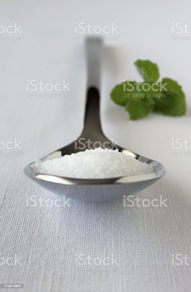 Spoonful of Stevia royalty-free stock photo