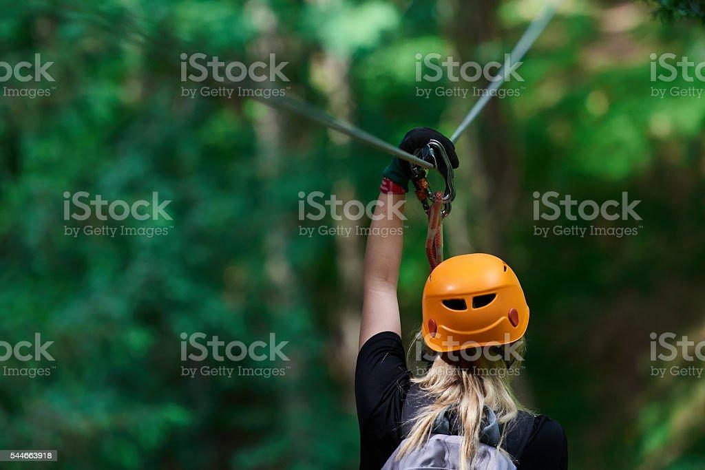 sport activities in nature stock photo