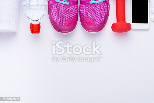 533343620 istock photo Sport and fitness concept 543692806