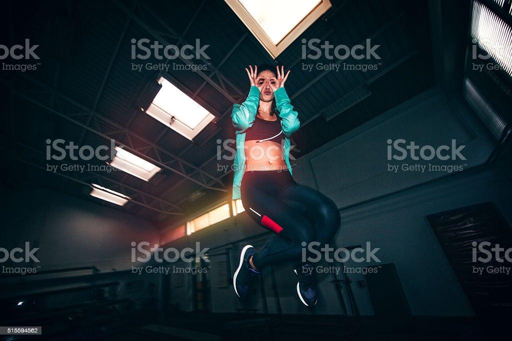 Sport and fun stock photo