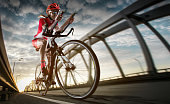 istock Sport background. Road cyclist. 826240114