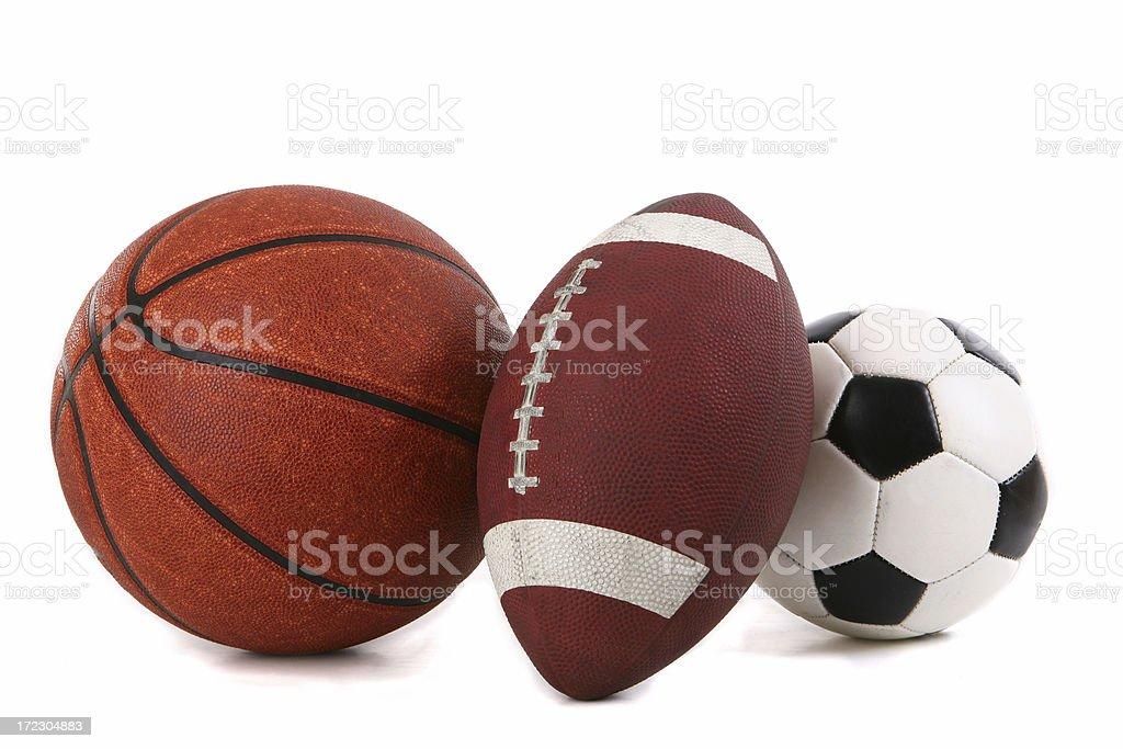 Sport Balls royalty-free stock photo