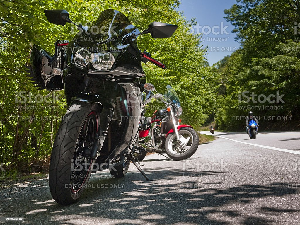 sport bikes royalty-free stock photo