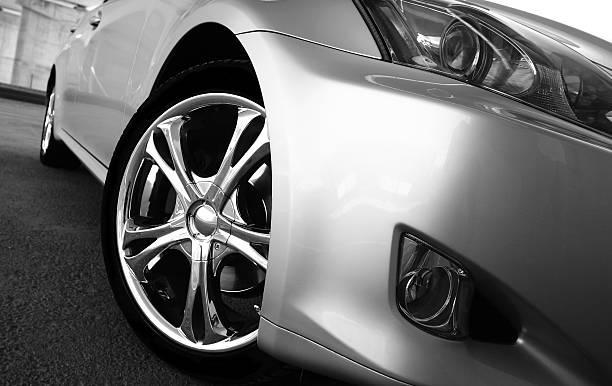 auto sportiva - close up auto foto e immagini stock