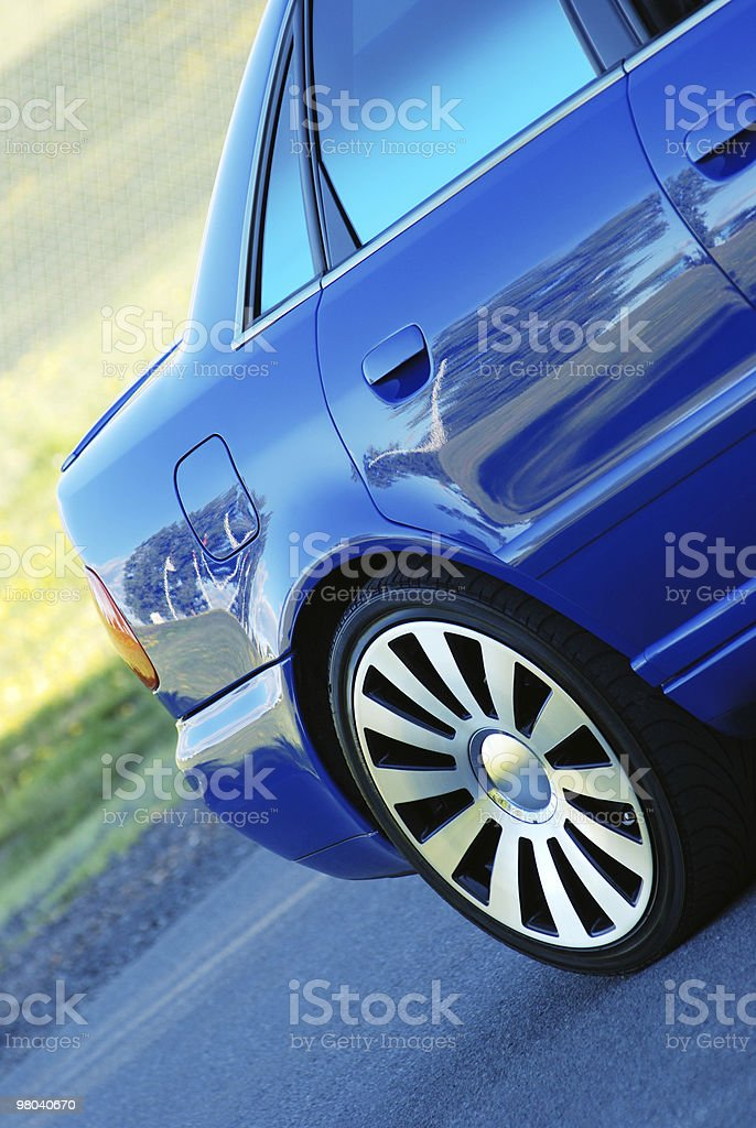 Sport car royalty-free stock photo