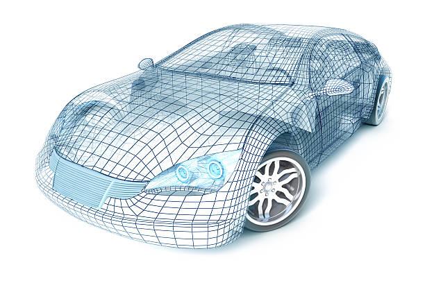 Sport Car Modélisation 3D - Photo