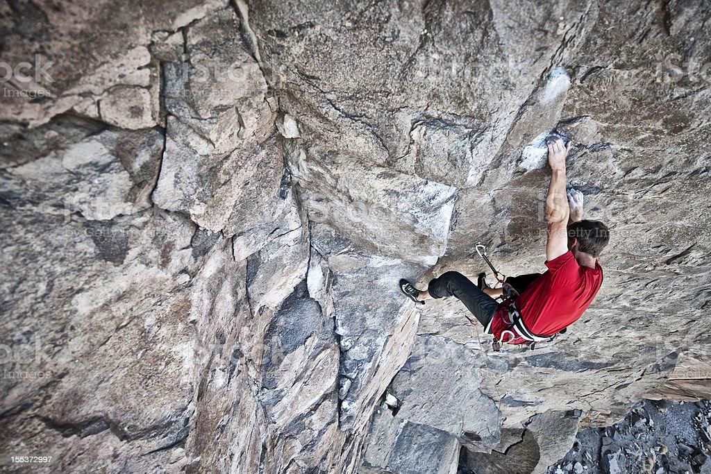 sport climber royalty-free stock photo