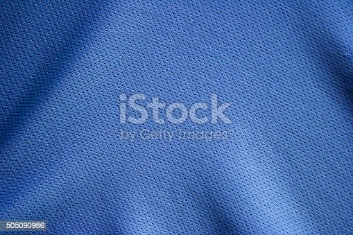 istock Sport clothing fabric texture background 505090986