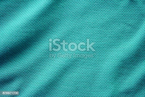 istock Sport clothing fabric texture background, top view of cloth textile surface 826921200