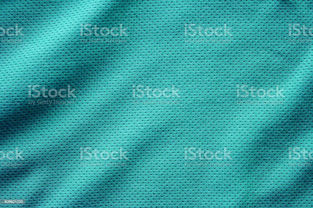 Sport clothing fabric texture background, top view of cloth textile surface stock photo