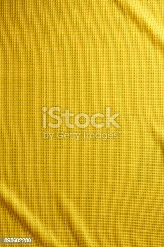 Cotton Fabric Full Frame Texture. Top View of Cloth Textile Surface. Clothing Background. Text Space