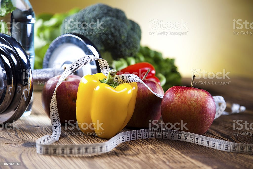 Sport diet stock photo