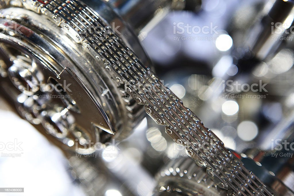 sport engine chain royalty-free stock photo