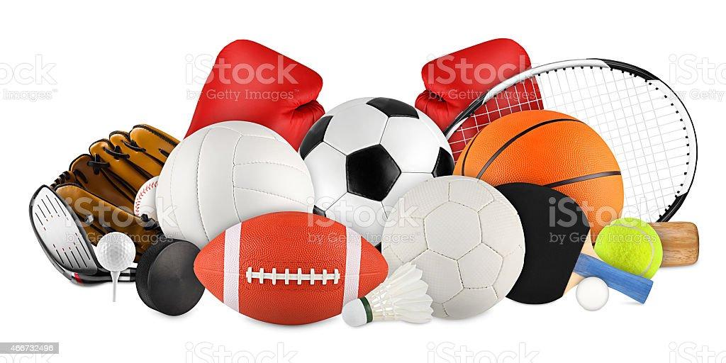 Attrezzatura sportiva - foto stock