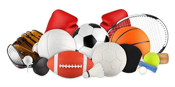 sport equipment stock photo
