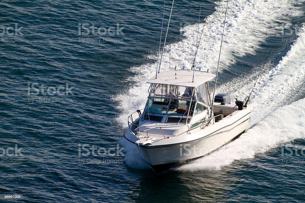 Sport Fishing Boat stock photo